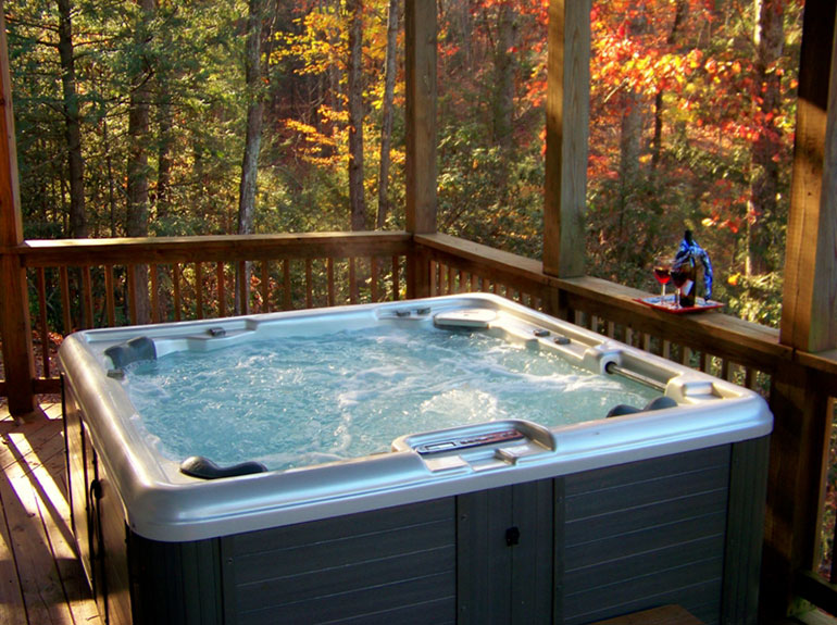 Some Of Our Rentals Have Hot Tubs. Large Chalet Style Vacation Rentals In Lake  Lure