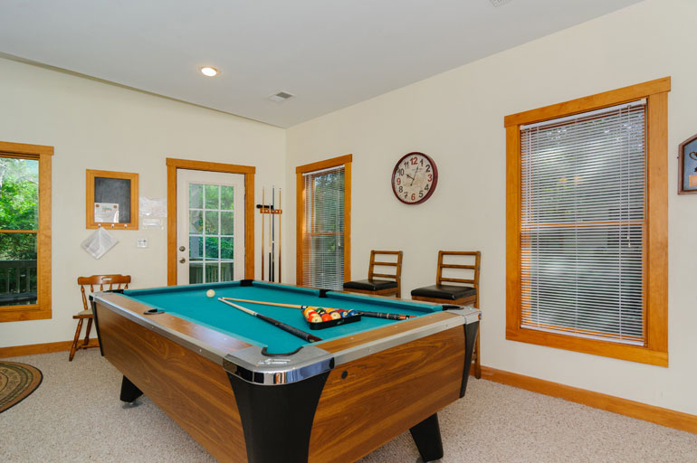Old Fashioned Sweet Kitchen Pool Table Vignette - Home Design Ideas ...